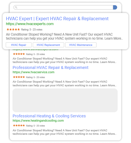 Search Placement Example